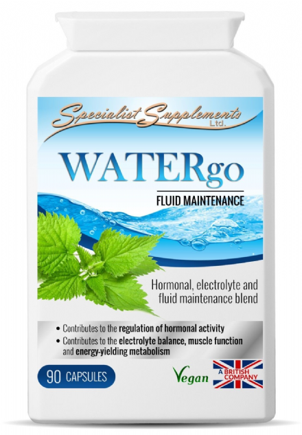 WATERgo x 90 V-Caps; Electrolyte, Fluid Blend; Specialist Supplements